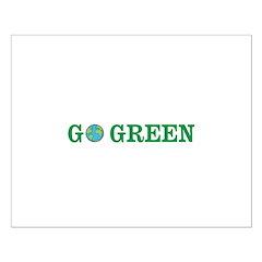 Go Green Merchandise Posters