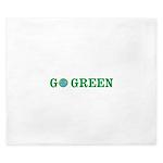 Go Green Merchandise King Duvet