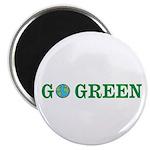 Go Green Merchandise Magnet