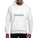 Go Green Merchandise Hooded Sweatshirt