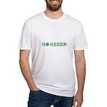 Go Green Merchandise Fitted T-Shirt