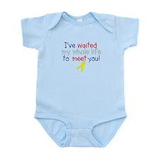Waited my whole life Infant Bodysuit