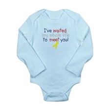 Waited my whole life Long Sleeve Infant Bodysuit