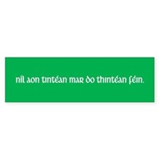 Ireland (Irish Heritage) Bumper Bumper Sticker