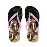 The Pony Cafe The Berry Custom Made Flip Flops