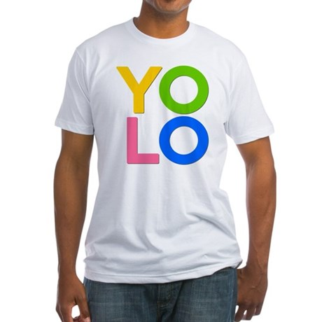 YOLO Fitted T-Shirt