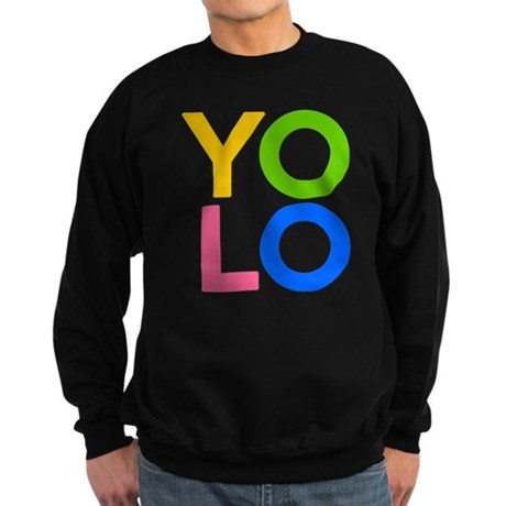 YOLO Dark Sweatshirt