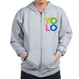 YOLO Zipped Hoody