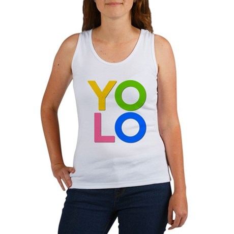 YOLO Womens Tank Top