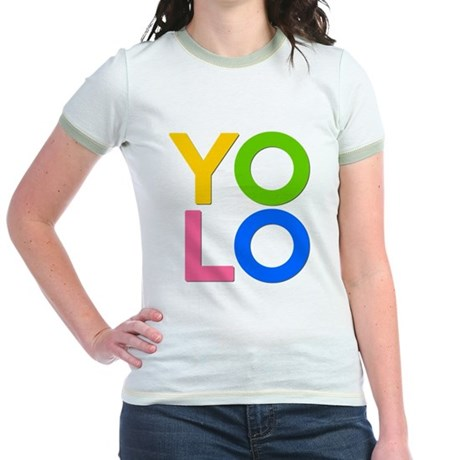YOLO Jr Ringer T-Shirt