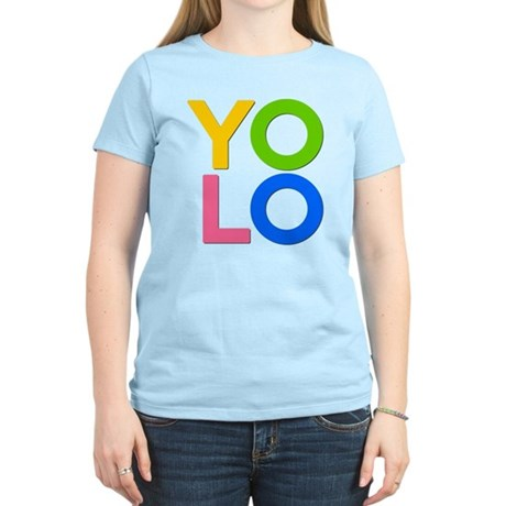 YOLO Womens Light T-Shirt