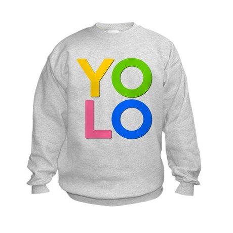 YOLO Kids Sweatshirt