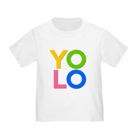 YOLO Toddler T-Shirt