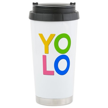 YOLO Ceramic Travel Mug