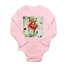 Poppy Gnome Long Sleeve Infant Bodysuit