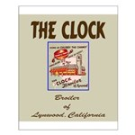 The Clock Broiler Lynwood Small Poster