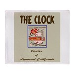 The Clock Broiler Lynwood Throw Blanket