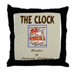 The Clock Broiler Lynwood Throw Pillow