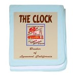 The Clock Broiler Lynwood baby blanket
