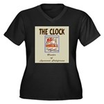 The Clock Broiler Lynwood Women's Plus Size V-Neck
