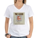 The Clock Broiler Lynwood Women's V-Neck T-Shirt