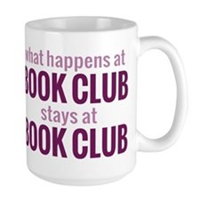 What Happens at Book Club Mug
