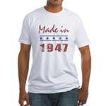 Made In 1947 Fitted T-Shirt