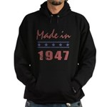Made In 1947 Hoodie (dark)