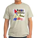 4th of July Ash Grey T-Shirt