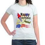 4th of July Jr. Ringer T-Shirt