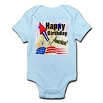 4th of July Infant Creeper