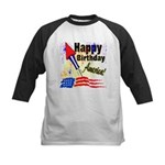 4th of July Kids Baseball Jersey