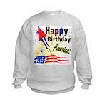 4th of July Kids Sweatshirt