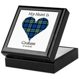 Heart - Graham of Menteith Keepsake Box