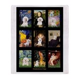 Bichon Masterpieces (A) Throw Blanket