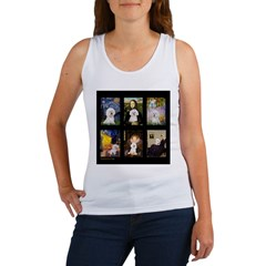 Bichon Masterpieces (A) Women's Tank Top