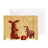 Velvet-Rabbit 2 Greeting Cards (Pk of 20)