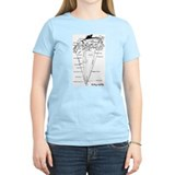 UPSIDE-down Yacht Parts Women's Pink T-Shirt