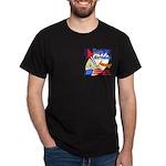 4th of July Black T-Shirt