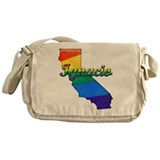 Ignacio, California. Gay Pride Messenger Bag