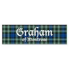 Tartan - Graham of Montrose Bumper Sticker