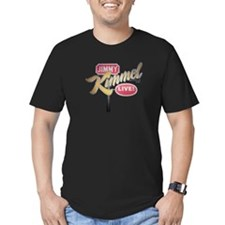 Jimmy Kimmel Sign Men's Fitted T-Shirt (dark)