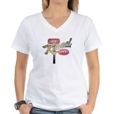 Jimmy Kimmel Sign Women's V-Neck T-Shirt