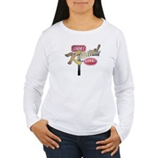 Jimmy Kimmel Sign Women's Long Sleeve T-Shirt