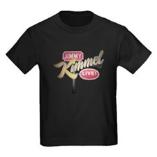 Jimmy Kimmel Sign Kids Dark T-Shirt