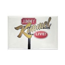 Jimmy Kimmel Sign Rectangle Magnet