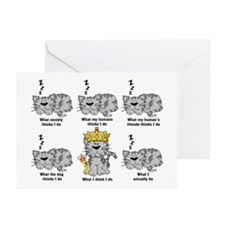 The Cat Greeting Cards (Pk of 20)