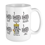 The Cat Large Mug