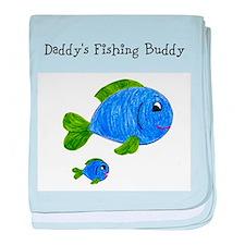 Fishing Buddy baby blanket