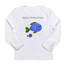 Fishing Buddy Long Sleeve Infant T-Shirt
